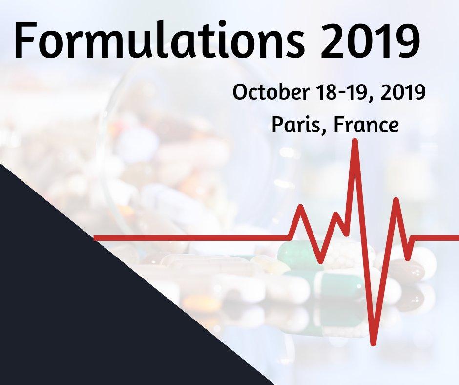 Formulations 2019 - Paris, France