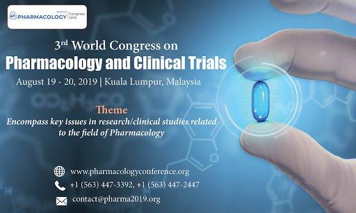 3rd World Congress on Pharmacology and Clinical Trials - 100, Jalan Putra,  Chow Kit,  50350 Kuala Lumpur,  Wilayah Persekutuan Kuala Lumpur,  Malaysia