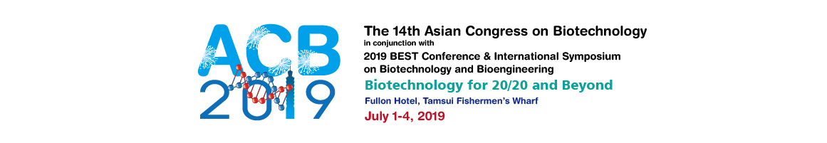 14th Asian Congress on Biotechnology (ACB 2019) - No.83, Guanhai Rd., Tamsui Dist., New Taipei City, Taiwan
