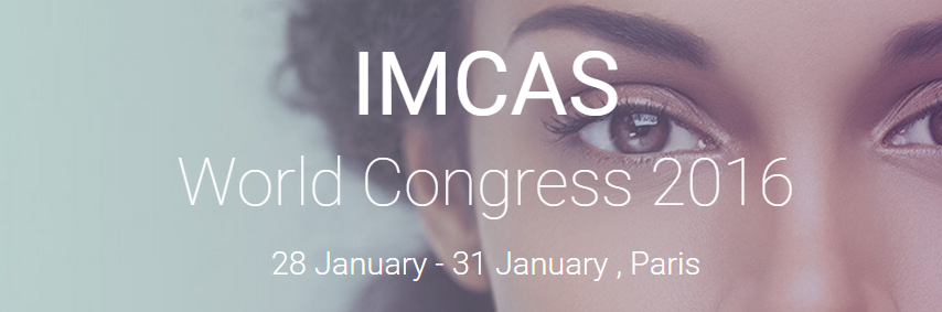 IMCAS World Congress - The Palais des Congres in Paris, Paris, France