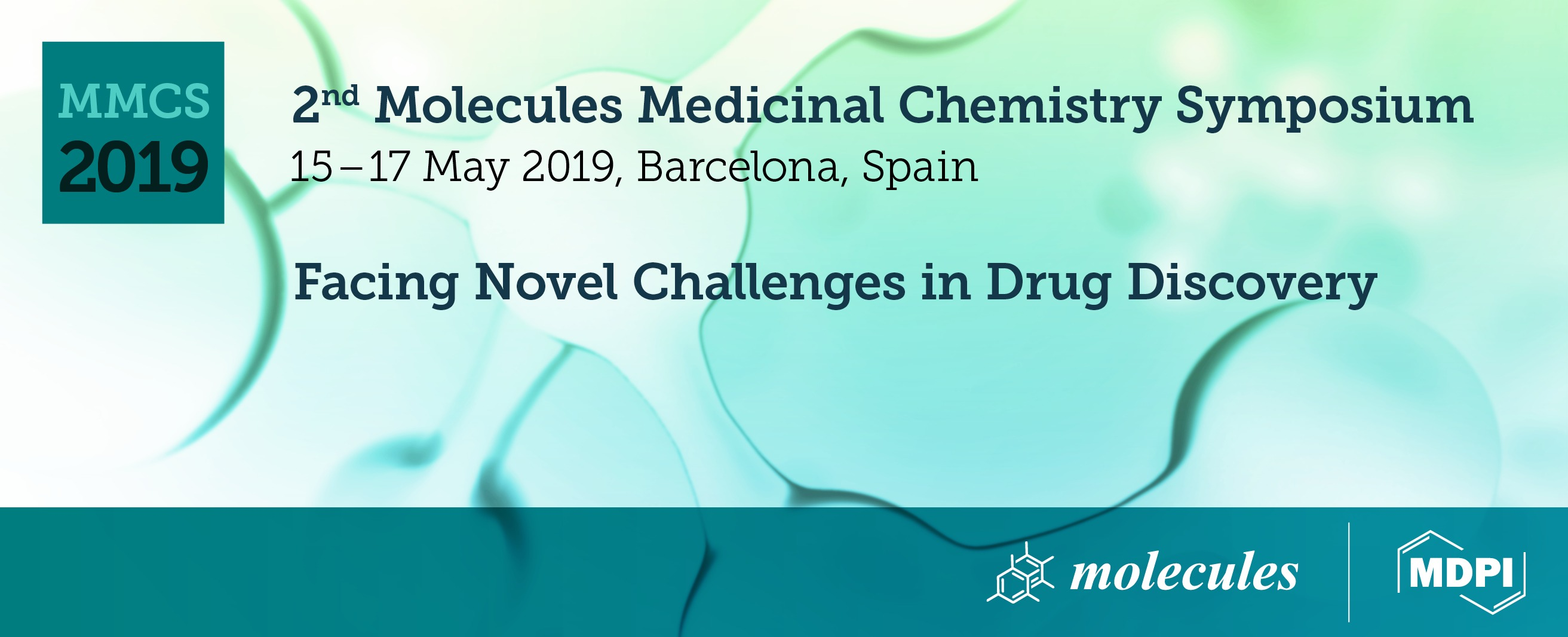 2nd Molecules Medicinal Chemistry Symposium - Facing Novel Challenges in Drug Discovery - Avinguda Diagonal, 547, 08029 Barcelona