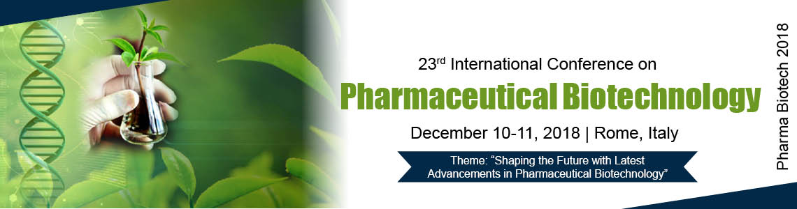 23rd International Conference on Pharmaceutical Biotechnology - Rome, Italy