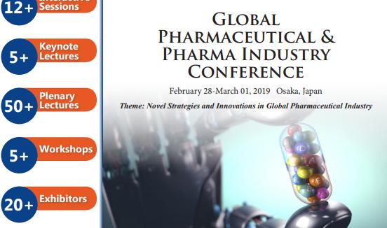 Global Pharmaceutical & Pharma Industry Conference (CSE) - Suminoe Ward, Osaka  Japan