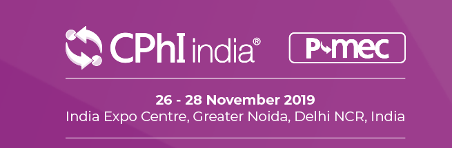 CPhI India 2019 - India Exposition Mart Limited, India