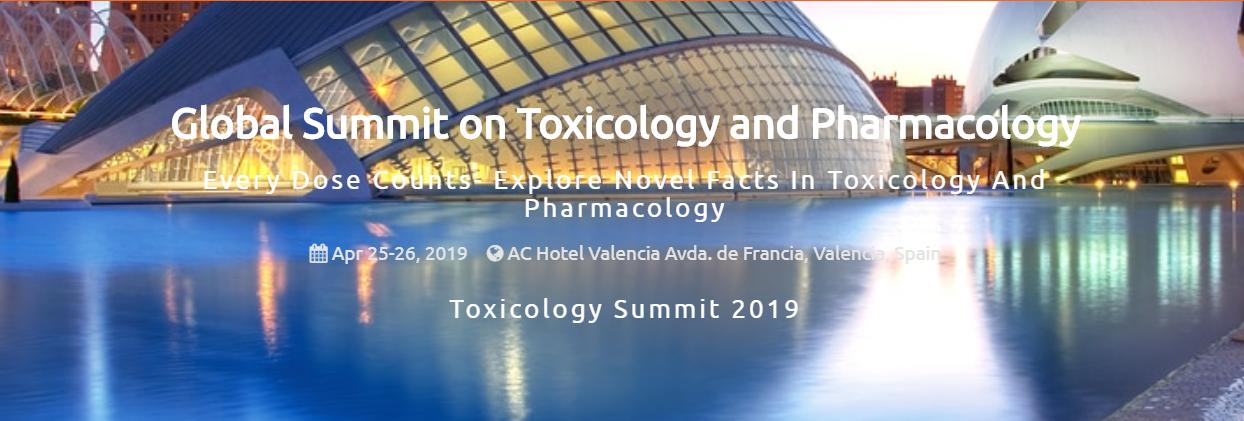 Global Summit on Toxicology and Pharmacology - AC Hotel Valencia  Avda. de Francia, 67, Valencia 46023 Spain