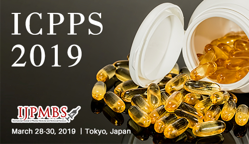 2019 4th International Conference on Pharmacy and Pharmaceutical Science (ICPPS 2019) - Meiji University Tokyo, Japan