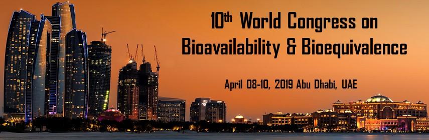 10th World Congress on Bioavailability & Bioequivalence - Radisson Blu Hotel Abu Dhabi