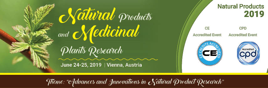 6th International Conference and Exhibition on  Natural Products and Medicinal Plants Research - Vienna, Austria