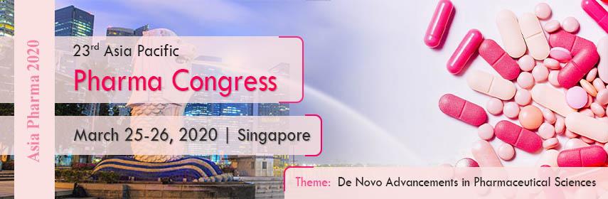 23rd Asia Pacific Pharma Congress - Singapore