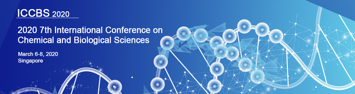 2020 7th International Conference on Chemical and Biological Sciences - Shaw Foundation Alumni House National University of Singapore