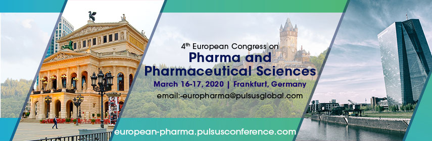 4th European Congress on Pharma and Pharmaceutical Sciences - Frankfurt, Germany