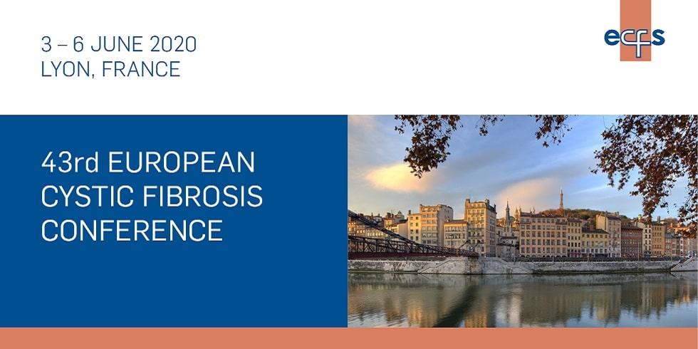 43rd European Cystic Fibrosis Conference 2020 - Centre de Congrès de Lyon 50 quai Charles de Gaulle 69463 Lyon France