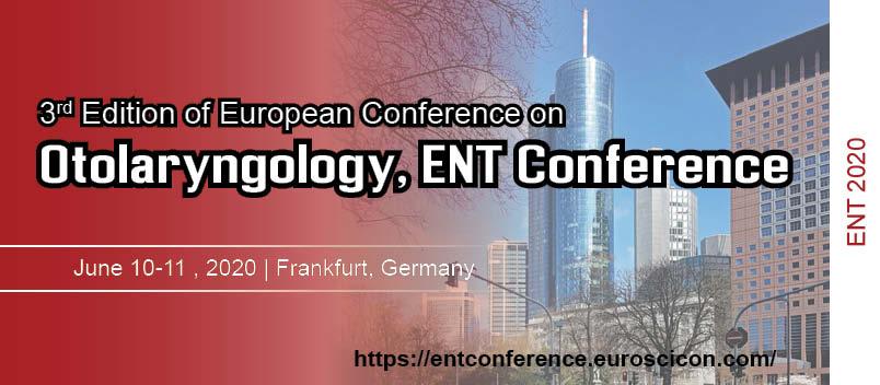 Otolaryngology and ENT 2020 - Frankfurt, Germany