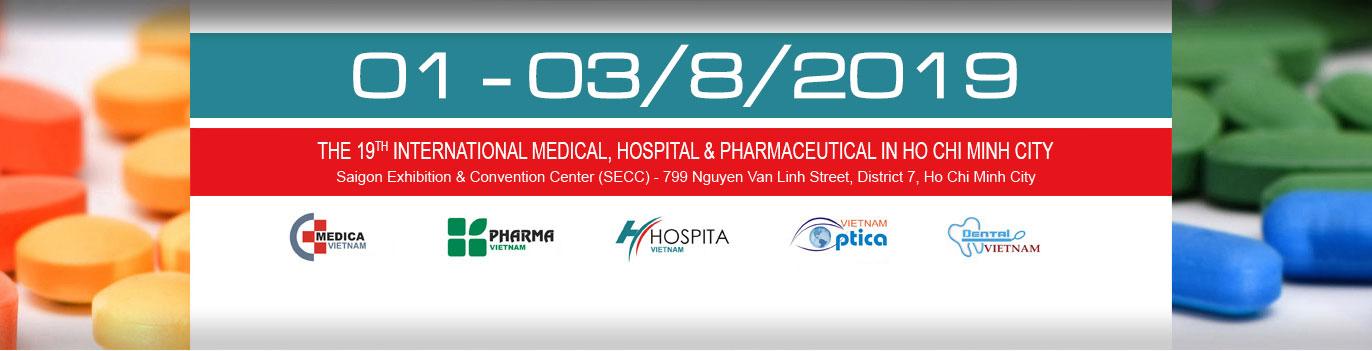 Vietnam Medi-Pharm Expo - Saigon Exhibition and Convention Center, Ho Chi Minh, Vietnam