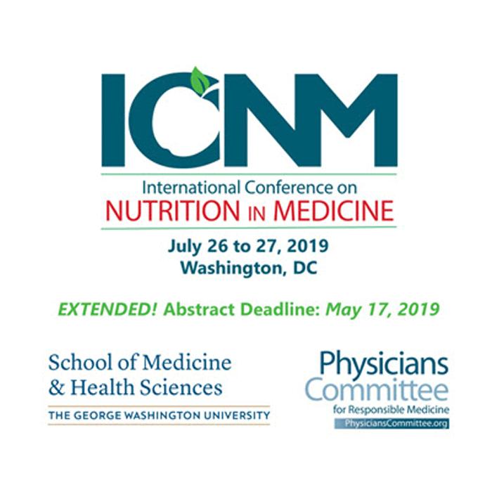 International Conference on Nutrition In Medicine - George Washington University, Washington DC, USA