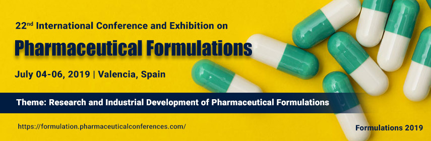 22nd International Conference and Exhibition on Pharmaceutical Formulations - Valencia, Spain