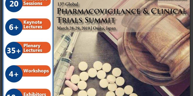 13th Global Pharmacovigilance & Clinical Trials Summit - Osaka, Japan