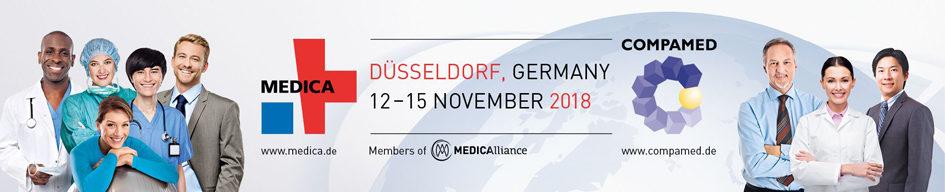 MEDICA 2018 - World Forum for Medicine - Stockumer Höfe 170, 40474 Düsseldorf, Germany