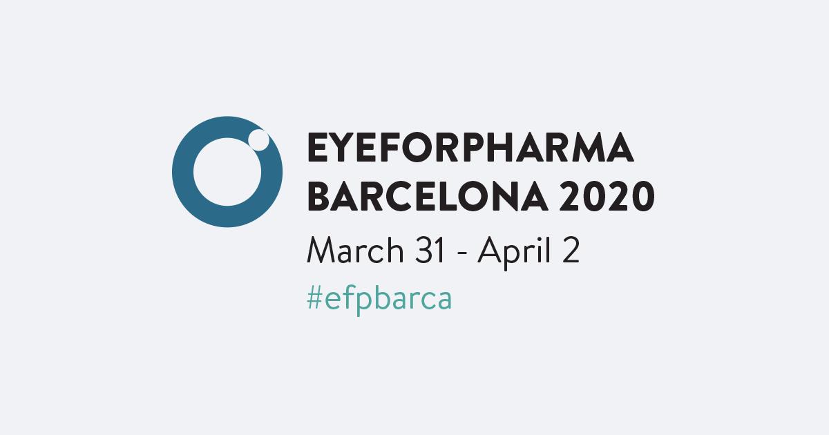 Eyeforpharma Barcelona 2020 - Barcelona, Spain
