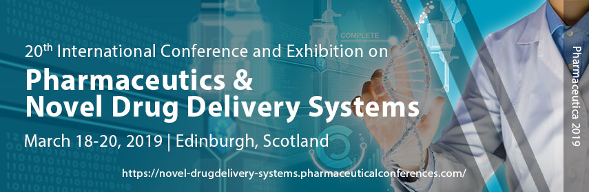 20th International Conference and Exhibition on Pharmaceutics & Novel Drug Delivery Systems - Edinburgh, Scotland