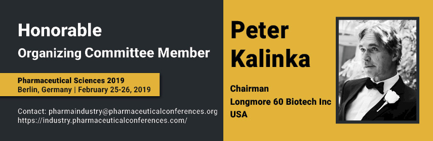 19th World Congress on  Pharmaceutical Sciences and Innovations in Pharma Industry - Berlin, Germany