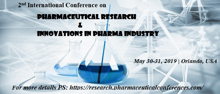 2nd International Conference on  Pharmaceutical Research  & Innovations in Pharma Industry - Orlando, Florida, USA